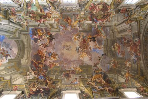 Who Began The Tradition Of Illusionistic Ceiling Painting by Images
