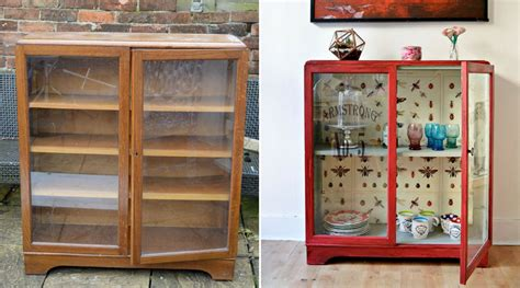 decoupage cupboard other upcycles pillar box bluepillar box blue