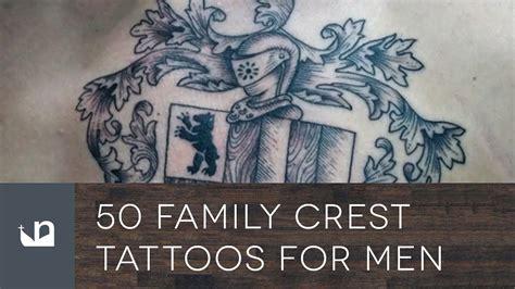 family crest tattoos for men 50 family crest tattoos for