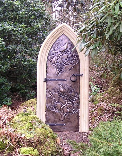 secret garden door mark reed sculpture