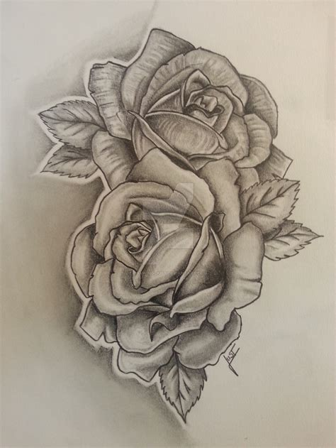 roses tattoo drawing hoontoidly drawing images