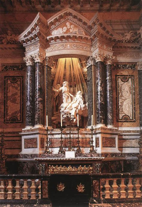 bernini illuminati demons ecstasy of st theresa
