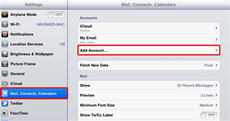 iphone email settings email setup iphone ipod touch and support plusnet