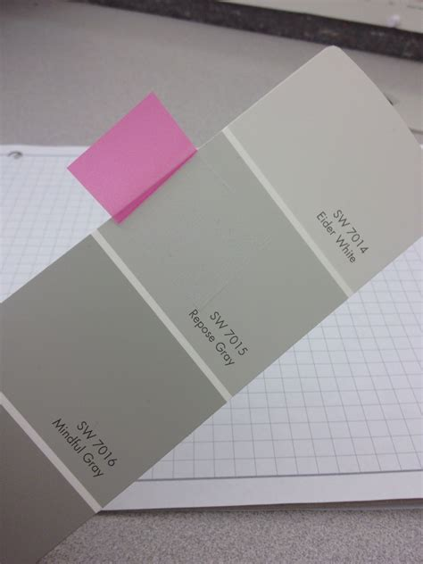 gray paint swatches repose gray sherwin williams paint pinterest