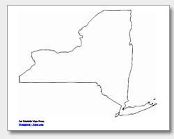 printable map of new york state printable new york maps state outline county cities