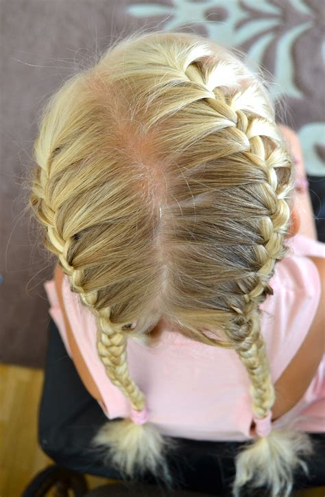 glue in french braids back to school hairstyles jennishairdays
