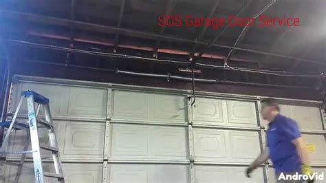 Sos Garage Doors Sos Garage Door Service Replacement