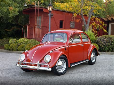 volkswagen beetle red beetle car stock photos kimballstock