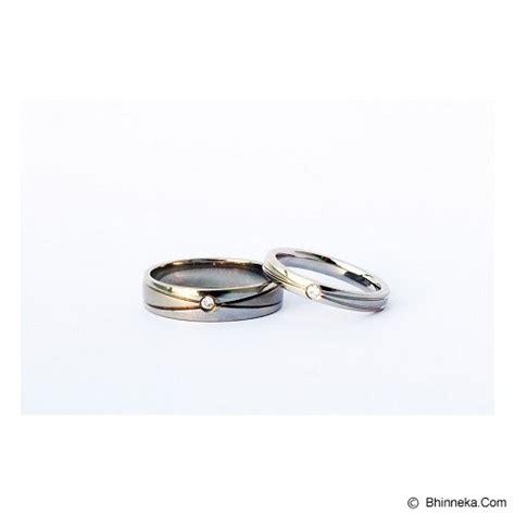 Cincin Titanium Size 6 jual titanium cincin size 5 w 7 m cc028 murah bhinneka