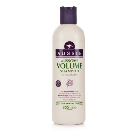 are cleansing conditioners good for fine limp hair aussie aussome volume shoo for fine limp hair 300ml