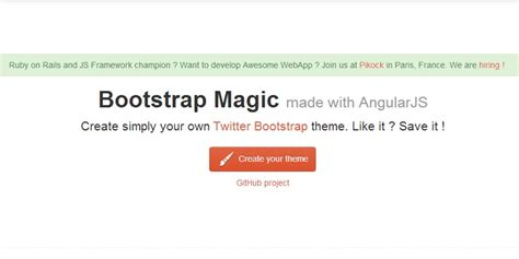 Tutorial Bootstrap Magic | with bootstrap magic create your bootstrap theme easily