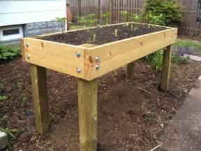 waist high planter box plans search gardening