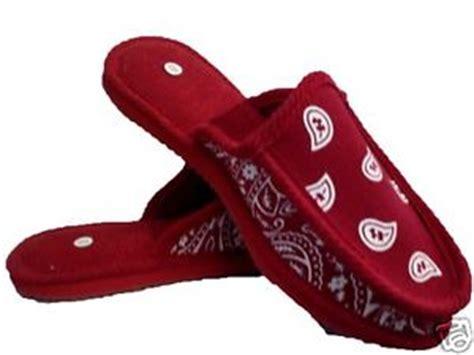 bandana house shoes slippers trooper open back size 8