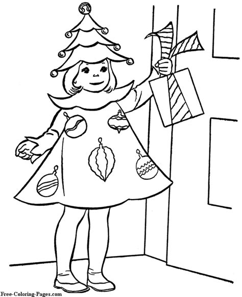 christmas dresses coloring pages christmas coloring sheet girl in christmas dress