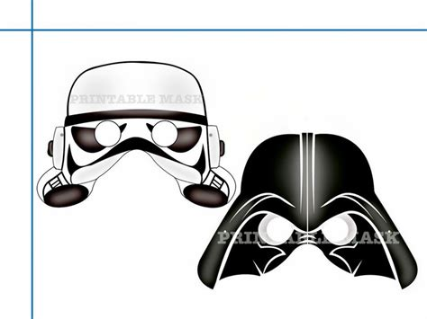 printable jedi mask unique star wars printable masks party holidaypartystar