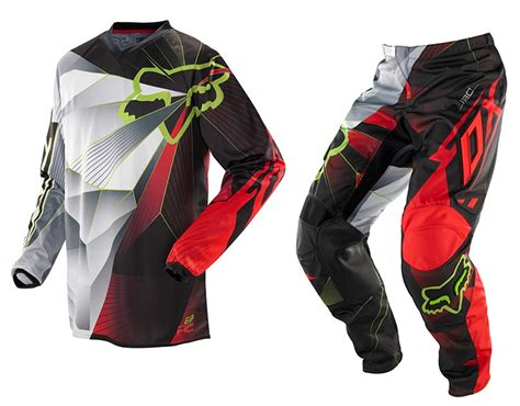 youth fox motocross gear fox mx 2014 hc radeon red youth motocross dirt bike kids