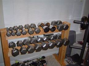 diy dumbbell rack diy dumbbell rack