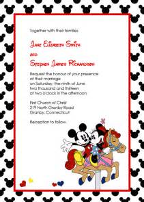 disney wedding invitation wedding invitation templates printable invitation kits