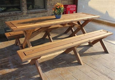 diy picnic table bench diy picnic table 5 you can make in a weekend bob vila
