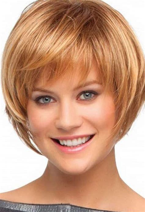 bob haircuts for 50 with hair short layered bob hairstyle with bangs
