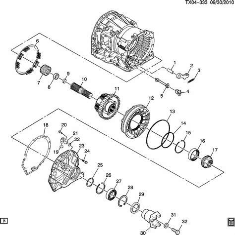 allison 1000 parts diagram automatic transmission
