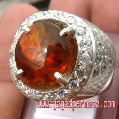 Batu Akik Permata Orange Opal orange opal batu akik