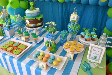Frog Baby Shower Decorations by Frog Baby Shower Baby Shower