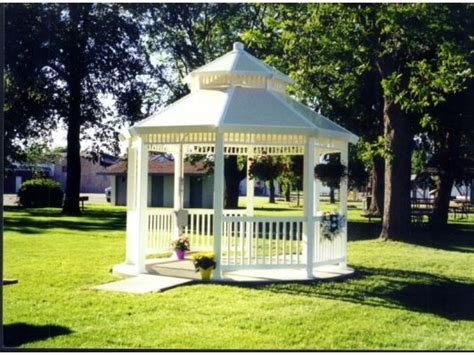 pvc pavillon 66 best images about house gazebo kiosco on