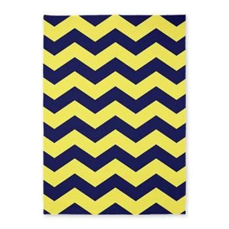 navy and yellow rug 5 x7 yellow and navy blue chevron rug for jon