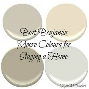 the best benjamin moore paint colours for home staging