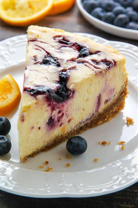 Bucks Berry Cheesecake lemon blueberry swirl cheesecake baker by nature