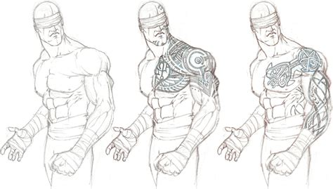 monk tattoo concepts by gavinmichelli on deviantart