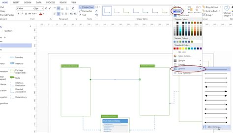 visio lines how do i get bi directional arrows in visio 2013 user