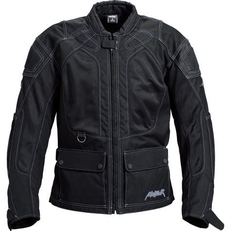 Motorrad Touren Jacke by Mohawk Sommer Touren Leder Textiljacke 1 0 Schwarz Ebay