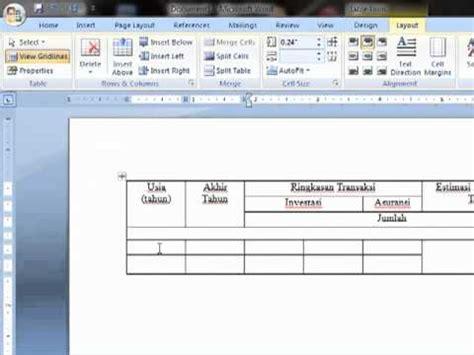 cara membuat struktur organisasi di excel 2010 video clip hay cara membuat tabel pada microsoft word