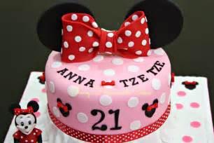 mini maus kuchen sheny s treats minnie mouse themed 21st birthday