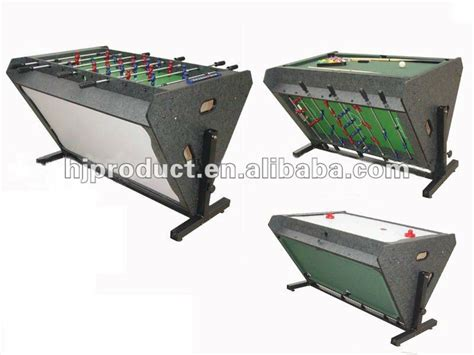 air hockey multi table high quality multi function table soccer table pool