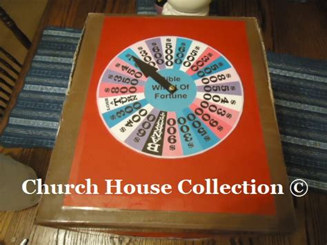 Bible Wheel Of Fortune Game Diy Idea To Make Your Own By Make Your Own Wheel Of Fortune