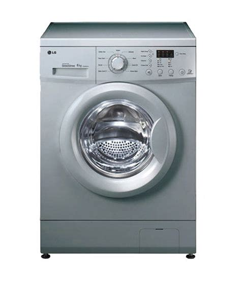 Lg F8008nmcwabwpein Washing Machine Front Loading lg 6 kg f10e3ndl25 fully automatic front load washing machine luxury silver price in india buy