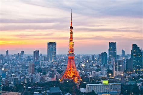 beautiful tokyo tower japan
