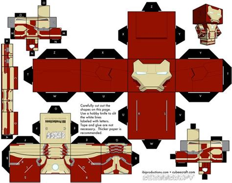 How To Make A Paper Iron - 15 cubeecraft paper models you will want to make