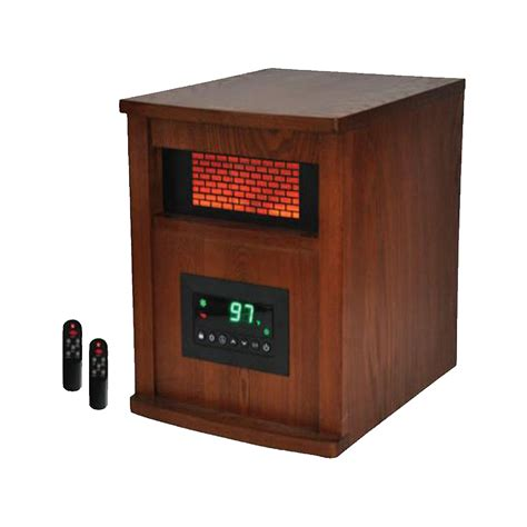 Electric Wood Heater Lifepro 6 Element Infrared Quartz Electric Wood Heater