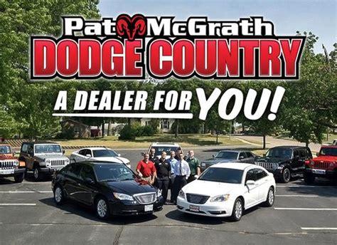 Pat Mcgrath Jeep Pat Mcgrath Chrysler Dodge Jeep Ram Cedar Rapids Ia
