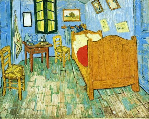 the bedroom vincent s bedroom in arles vincent gogh wikiart