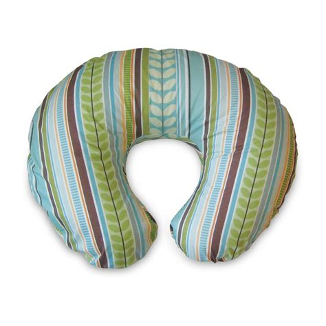 boppy slipcovered pillow boppy bare naked nursing pillow park hill striped baby