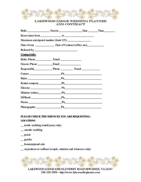 wedding florist contract template wedding florist contract template sletemplatess