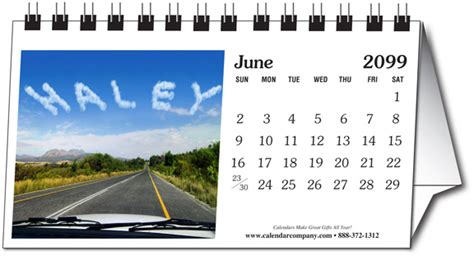 small photo desk calendar 2018 personalized photo name small desk calendar calendar