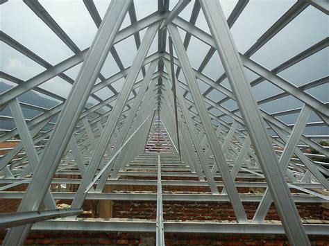 Konstruksi Ruang Baja jual baja ringan atap harga murah kota tangerang oleh cv mitra usaha mandiri jakarta