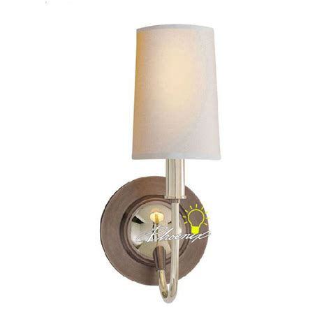 Bright Wall Sconce Antique Bright Copper And Fabric Wall Sconce 8759 Browse