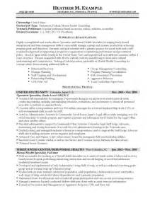 Government Resume Template by Resume Sles Types Of Resume Formats Exles And Templates